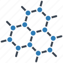 atom, dna, graphene icon