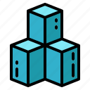 cubes, electronic, reality, technology, virtual