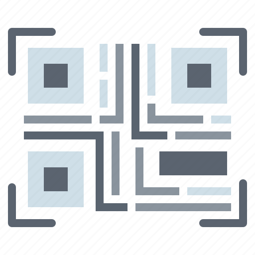 barcode, qrcode, scan, technology icon