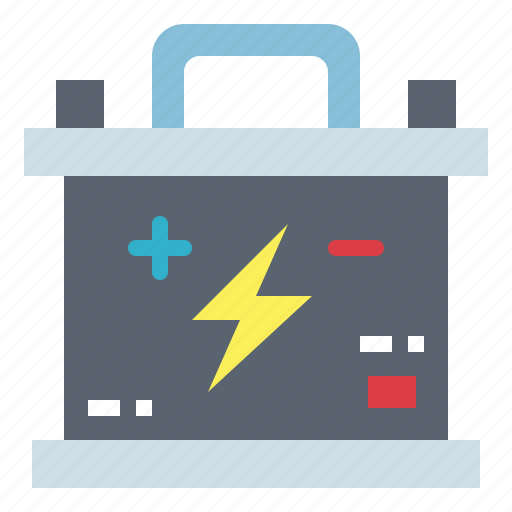 battery, starter, tools, transportation icon