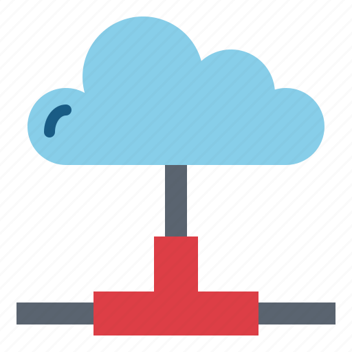 cloud, computer, data, multimedia icon