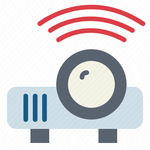 electronics, entertainment, image, projector icon