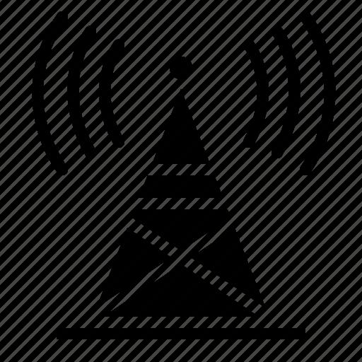 Antenna, internet, radio, signal, wifi, wireless icon - Download on Iconfinder
