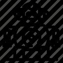 cnc, robotics, technology icon