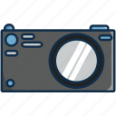 camera, illustrator, photos, photoshot, pictures, technology icon