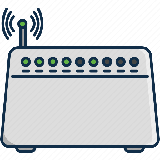 communication, lan, modem, signal, technology, wifi icon