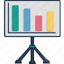 business, chart, communication, data, media, smart, technology icon
