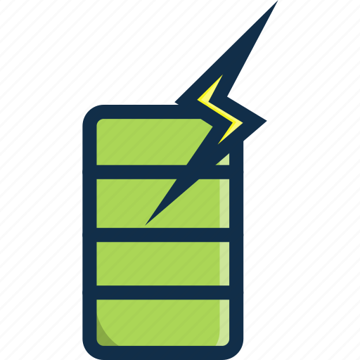 battery, changer, charge, technology, thunder icon