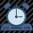 clock, communication, radio, technology, time, timing, wakingup icon