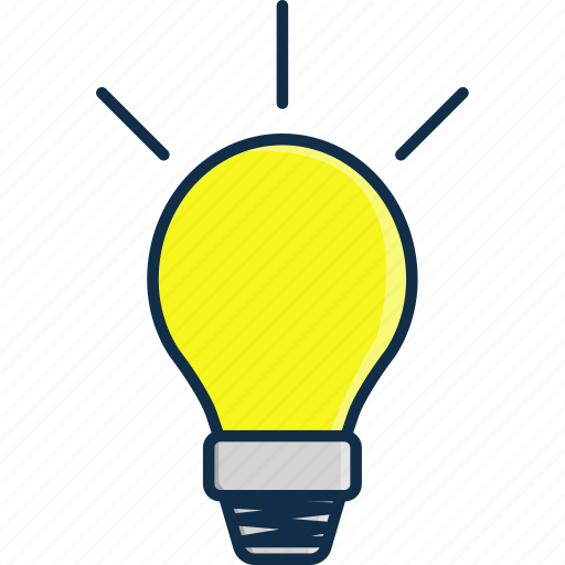 Brain, bright, bulb, idea, light, ligth, technology icon - Download on Iconfinder