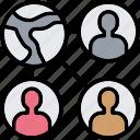business, network, organisation, team icon