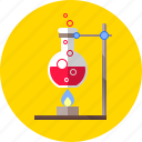 chemistry, experiment, laboratory, research, science, technology icon