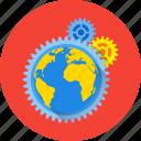 earth, global, online, planet, technology, internet, network