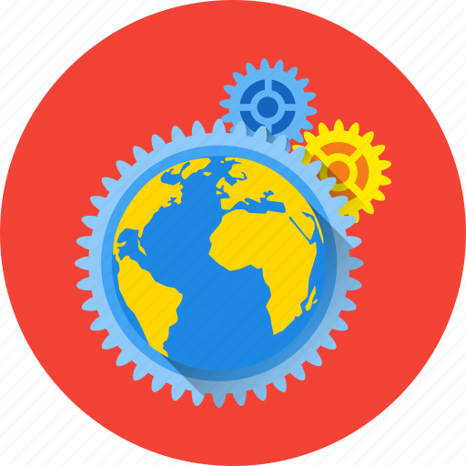 earth, global, internet, network, online, planet, technology icon
