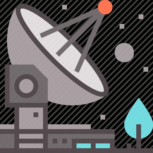 dish, signal, technology, telecommunication, transmitter icon