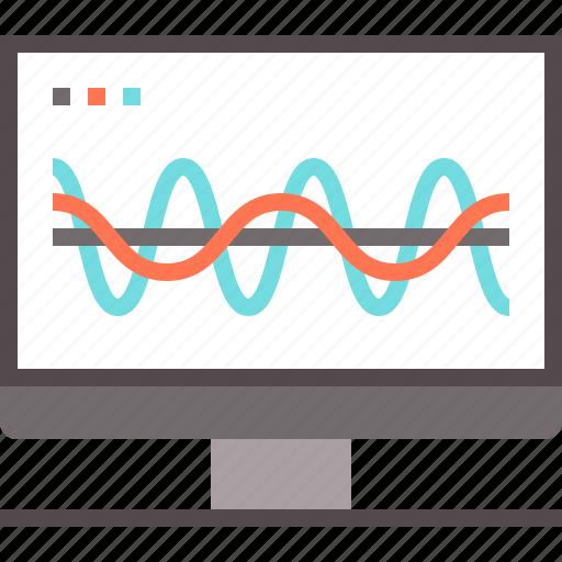 analysis, analytics, computation, dasboard, technology icon