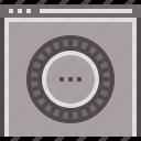 encryption, machine, security, technology, website icon