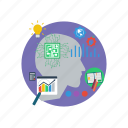 background, computer, concept, idea, modern, network, technology icon