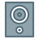 audio, electronic, loudspeaker, music, sound, speaker icon