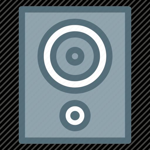audio, electronic, loudspeaker, music, sound, speaker icon