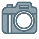 camera, digital, dslr, lens, photo, photography, technology icon