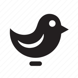 bird, chat, communication, creative, crisp, internet, media, message, network, social, talk, web icon