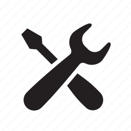 fix, help, repair, screw driver, service, setting, settings, support, tool, tools, work, wrench icon