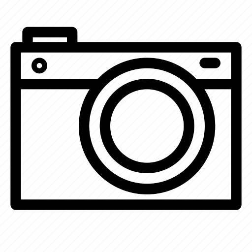 camera, digital, lens, mirrorless, photo, photography, technology icon
