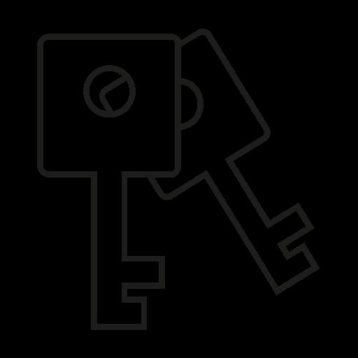 keys, password, security icon