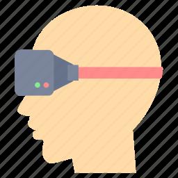 eye, eyes, glass, goggle icon