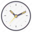 clock, schedule, time, timer, wall, watch icon