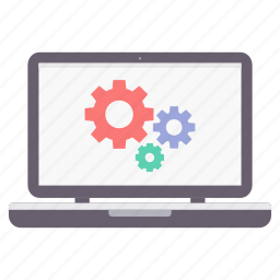 configuration, design, laptop, setting, settings, tool, tools icon
