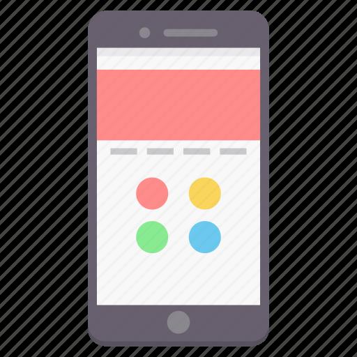 app, design, mobile, phone, smartphone, web, website icon