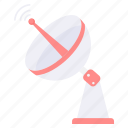 antenna, dish, satellite, signal, space, spaceship icon