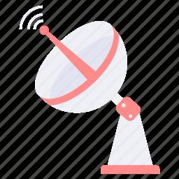 antenna, dish, satellite, signal, space, spaceship icon