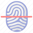 fingerprint, fingerprints scan, fingersprints, scan, scanning icon