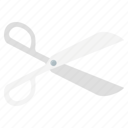 cut, cutting, discount, equipment, scissor, scissors icon