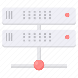 cloud, connection, data, database, hosting, network, server icon