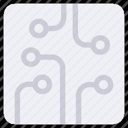 electronic, electronics, technology icon