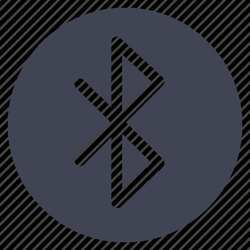 bluetooth, communication, share, technology, wireless icon