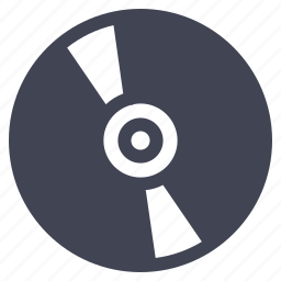 cd, disk, dvd, storage, technology icon