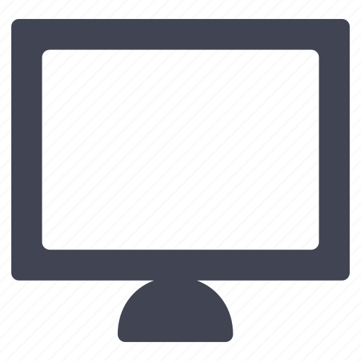 computer, monitor, screen, technology, television icon