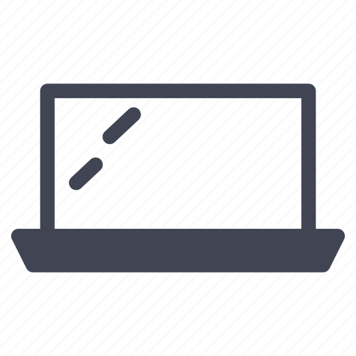 computer, device, laptop, technology icon
