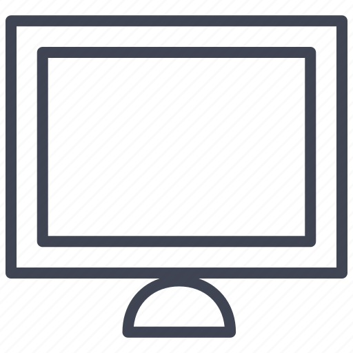 apple, computer, device, monitor, screen, technology icon