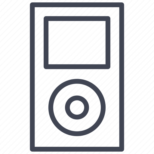 audio, ipod, media, music, player, technology icon