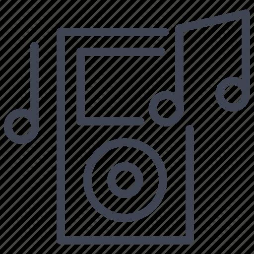 audio, ipod, multimedia, music, player, sound, technology icon