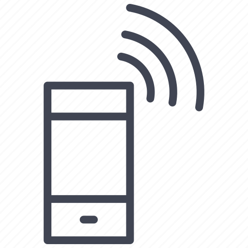communication, mobile, phone, smartphone, technology, wifi icon