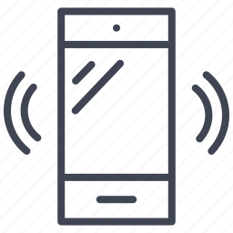 communication, mobile, phone, smartphone, technology, vibration icon