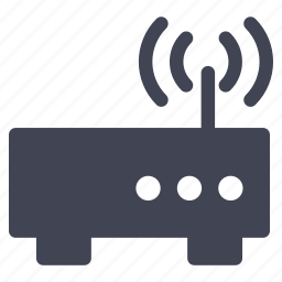 communication, internet, modem, router, technology, wifi icon