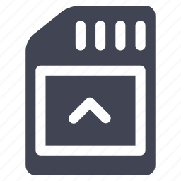 card, save, sd, storage, technology icon